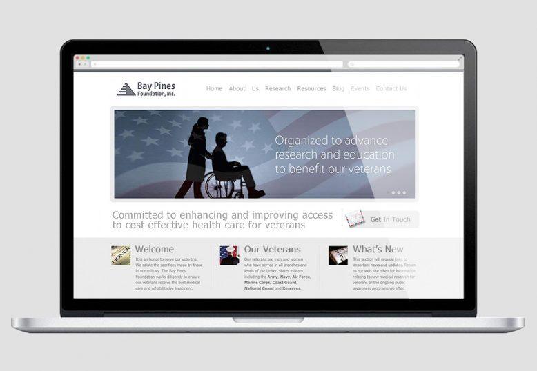 Bay Pines Foundation, Inc. website
